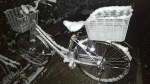 1-雪の自転車